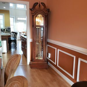 Grandfather Clock. No Scratches, Looks like new. Disassembled for easy transport. for Sale in Poolesville, MD