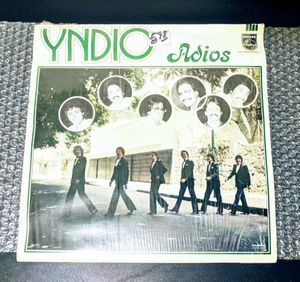 "Yndio: Adios 1985 (12"") LP Mercurio - Vinyl - Condition VG+ TOTAL LENGTH 40:42 for Sale in Huntington Beach, CA"