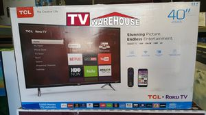 """40"""" Tcl Roku smart 1080p 120hz for Sale in Bell Gardens, CA"""