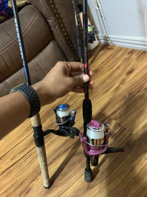 2 Shakespeare combo rods for Sale in Conroe, TX
