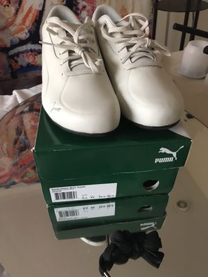 Puma future cats 10.5 never worn with box paid $120 for Sale in Seattle, WA