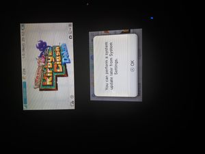 Black Nintendo 3DS XL kirby clash deluxe bundle charger included for Sale in Decatur, GA