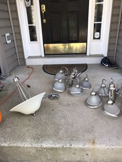 3 chandelier lights. for Sale in Alexandria,  VA