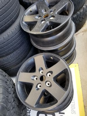 Jeep JK Sahara wheels for Sale in Austin, TX