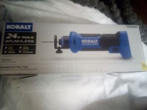 Kobalt 24 volt brushless lithium ion Drywall Cut-Out tool (Bare Tool) for Sale in Lake Elsinore, CA