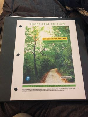 intermediate algebra 13th edition for Sale in Lynwood, CA