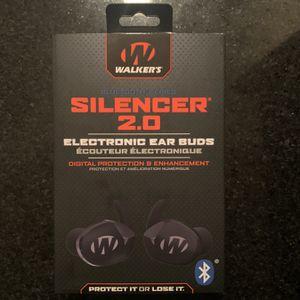 Walker's Silencer 2.0 Bluetooth Earphones for Sale in Orange, CA