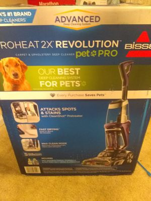 Bissell Proheat 2X Revolution for Sale in Greenville, SC