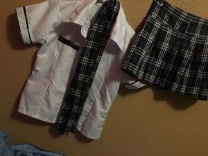 Role play schoolgirl outfit for Sale in Phoenix, AZ