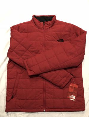 North Face / Insulated Puffy Rain Wind Coat Jacket / SIZE: Men's Large / Brand New w/ Tags! / Rage Red for Sale in Kent, WA