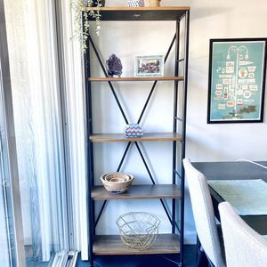 Industrial Bookshelf From Threshold Target for Sale in Long Beach, CA