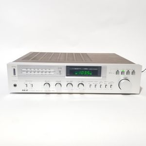 AKAI AA-R21 Silver-Face Vintage Stereo AM/FM Tuner Wood Cabinet Receiver TESTED for Sale in Germantown, MD
