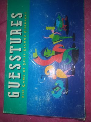 Guesstures Board Game for Sale in Denver, CO