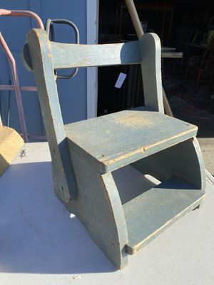 Wooden stool/chair for Sale in Clovis, CA