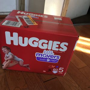HUGGIEZ SIZE 5 60 pañales for Sale in Compton, CA