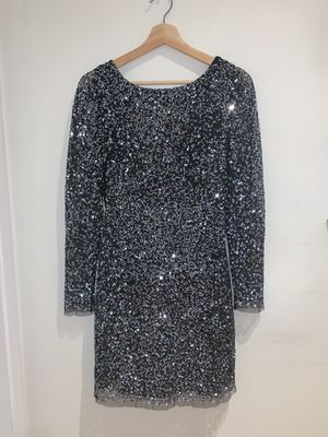 Adrianna Papell blue Sequin Dress Formal or Prom dress for Sale in Baldwin Park, CA