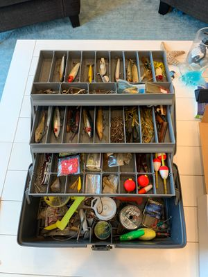 Plano fishing tackle box loaded for Sale in Clearwater, FL