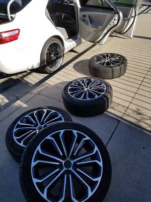 Toyota Corolla 17 inch Alloy wheels. for Sale in Downey, CA