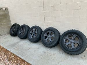 2018 Jeep Wrangler Rubicon Wheels for Sale in Las Vegas, NV
