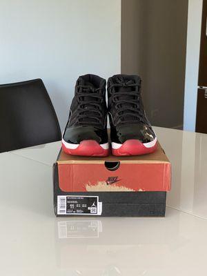 Jordan 11 Bred SIZE 11 for Sale in Evanston, IL