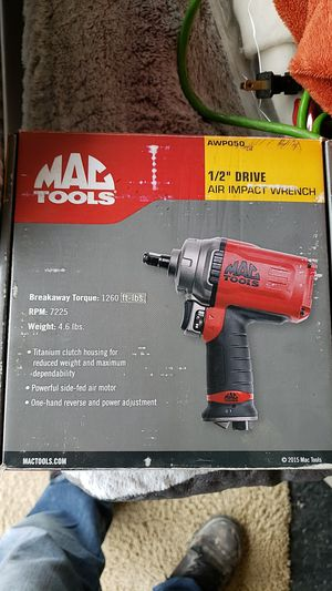 Mac Tool 1/2 Drive Impact Air Wrench BRAND NEW IN BOX for Sale in Modesto, CA