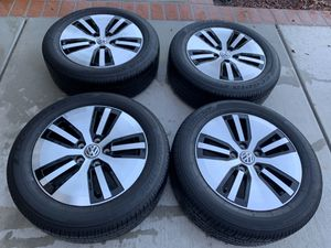 VW Golf 2019 take off rims wheels and tires for Sale in Laguna Niguel, CA