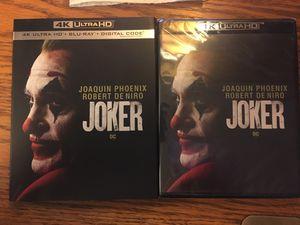 Joker, 4K UltraHD & Blue-ray & Digital copy for Sale in Winchester, KY