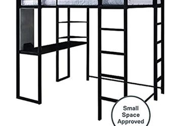 Full Size Bunk Bed With Desk Underneath for Sale in Olympia,  WA
