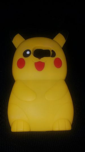Silicone Pikachu phone case for Samsung Galaxy s6 for Sale in San Diego, CA