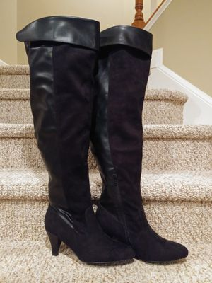 "New Women's Size 11 Comfortview THIGH BOOTS, 22"" WIDE CALF [Retail $250] Black for Sale in Woodbridge, VA"