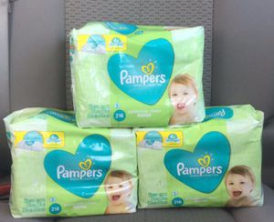 Pampers wipes 216 ct for Sale in Spring, TX