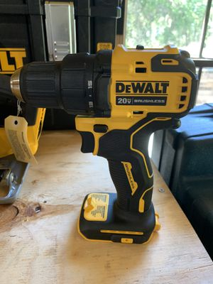 Brand new dewalt brushless atomic 1/2 drill tool only not negotiable for Sale in Plant City, FL