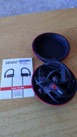 Senso A1 Bluetooth earbuds for Sale in Northborough, MA