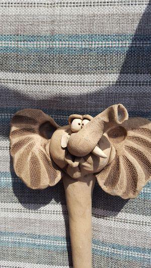 Pottery elephant flower pot decor for Sale in Allen Park, MI