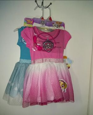 New Lot of Dress-Up Play Dresses Paw Patrol & Trolls Costumes for Sale in Nashville, TN