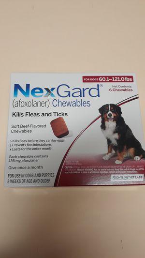 Nexgard 6 month supply (60-120lb) for Sale in Battle Ground, WA