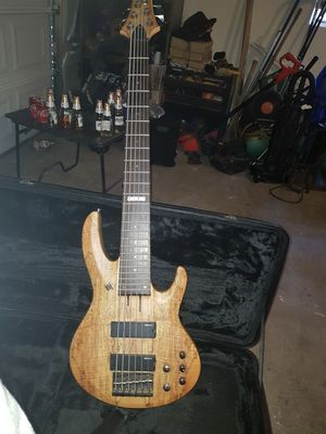 Ltd bass.. 6 strings for Sale in Modesto, CA