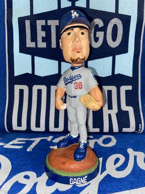 Dodgers Eric Gagne grey uniform bobble head bobble heads bobblehead bobble head bobbleheads for Sale in Los Angeles, CA