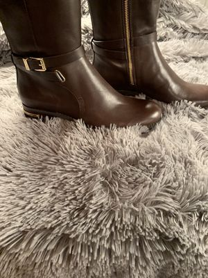 Michael Kors Arley Leather Riding Boots for Sale in Raleigh, NC