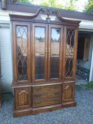 Ethan Allen 18th century style china hutch for Sale in Independence, KS