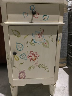 End table with drawer and storage for Sale in Portland, OR