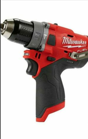 MILWAUKEE M12 FUEL BRUSHLESS SPEED HAMMER DRILL for Sale in San Bernardino, CA