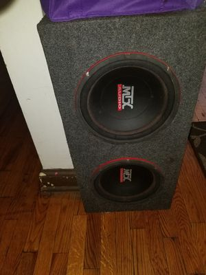 Mtx Subwoofer combo punch amp and all wires for Sale in Washington, DC