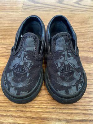 Vans U Classic Slip-On Star Wars Dark Side-Darth Vader Shoes C6 for Sale in Bellevue, WA