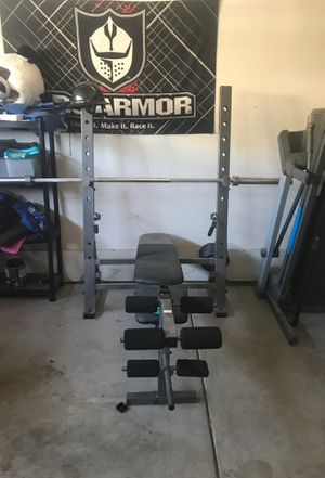 Gold gym weight bench for Sale in Riverside, CA
