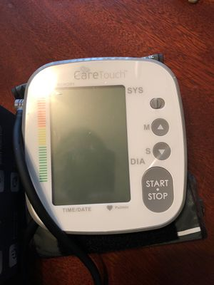 Care Touch Blood Pressure Monitor for Sale in Hudson, FL
