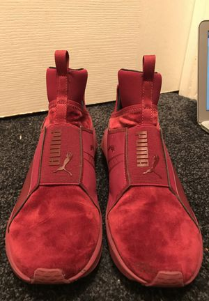 Red high top puma for Sale in Odenton, MD