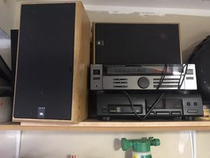 2 stereo receivers and 2 speakers for Sale in North Potomac, MD