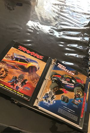 Free RC Traxxas parts catalogs both nitro and electric for Sale in Albuquerque, NM