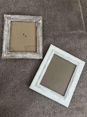 Home Decor- white picture frames for Sale in Arlington, VA